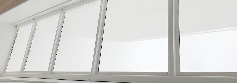 Case Study | AdamsBlinds Office Overhead Blinds