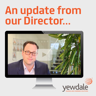 An update from our Director