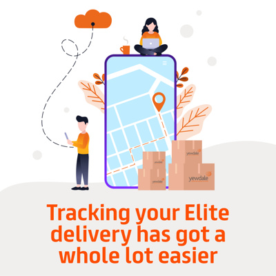 Tracking your Elite delivery has got a whole lot easier