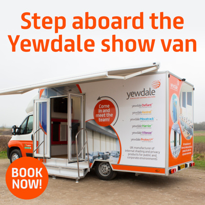 We're taking to the road with our new mobile show van