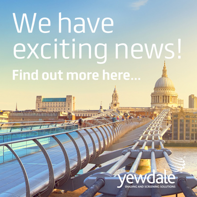 We have exciting news!