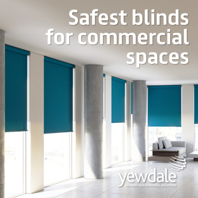 Child Safety Week - Safest blinds for commercial spaces