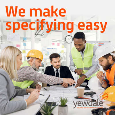 Specifying Yewdale Products