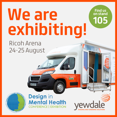 Design in Mental Health Conference: we're exhibiting!