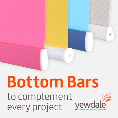 Bottom bars to complement every project