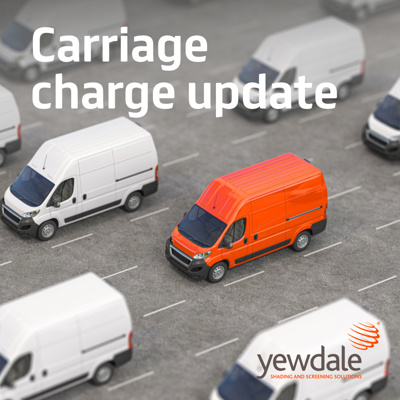 Carriage charge update