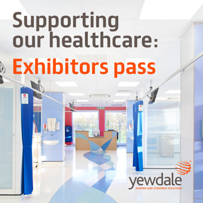 Supporting our healthcare: Exhibitor's pass