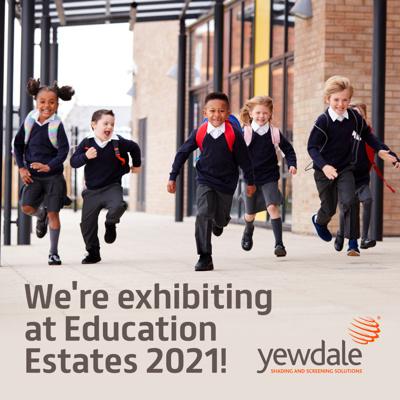 We're exhibiting at Education Estates