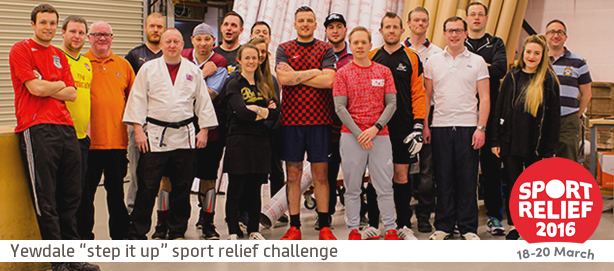 🚶🏃 Sport Relief 2016 - Update 🚶🏃