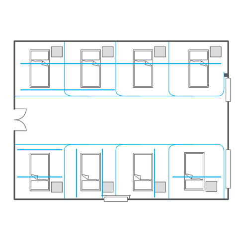 Page 9 Bed plan