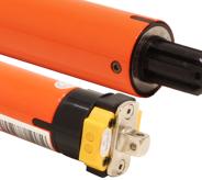 230v AC Tubular motor with radio receiver