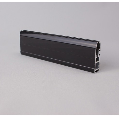 Black Aluminium Bottom Bar