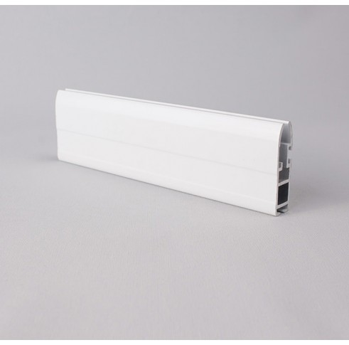White Aluminium Bottom Bar