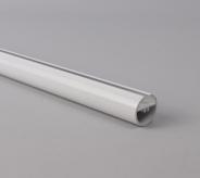 White Aluminium Round Bottom Bar