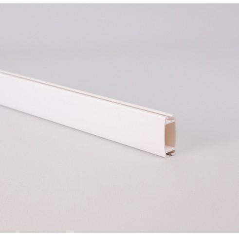 White Plastic Bottom Bar