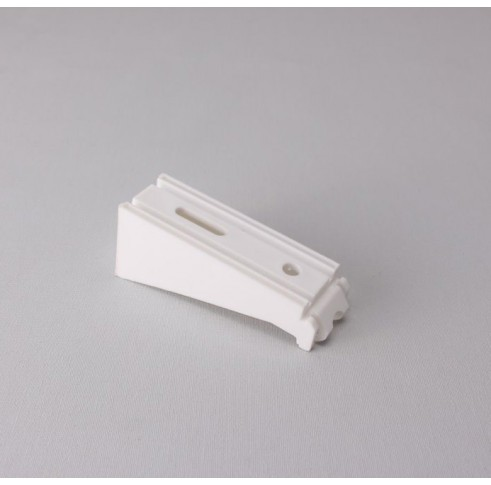 80mm Face Fix Bracket White