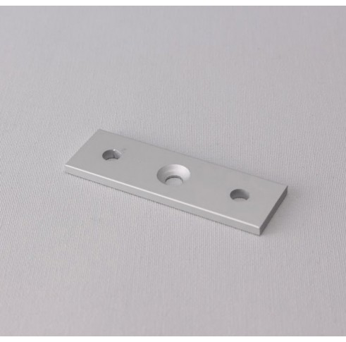 Ceiling Fixing Plate Double Silver