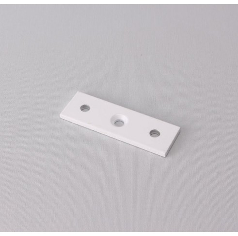 Ceiling Fixing Plate Double White