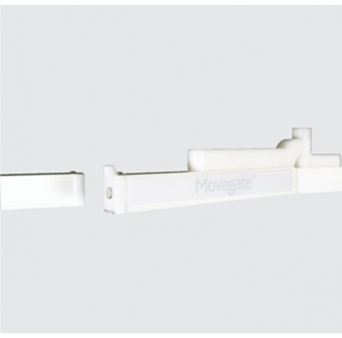 Spring-loaded hinge and magnetic latch