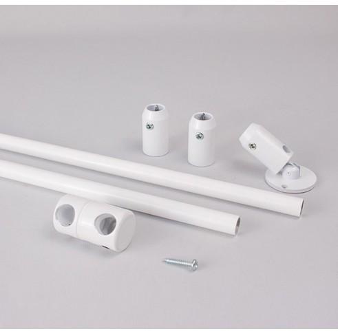 White V-Hanger Assembly (1000mm)