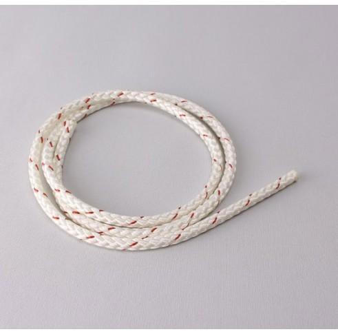 White 6mm Cord Nylon