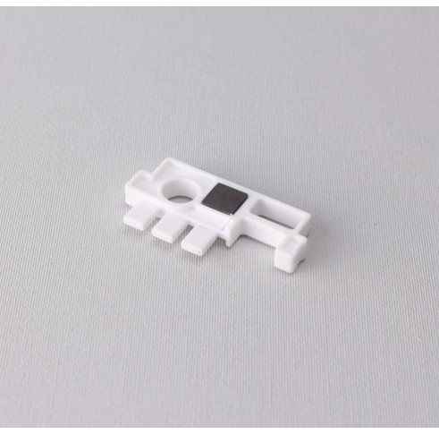 Shaft Support With Magnet White