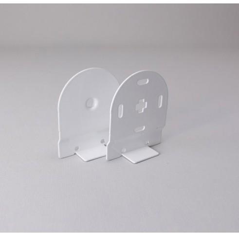 White Bracket 45mm Control Set For Back Bar
