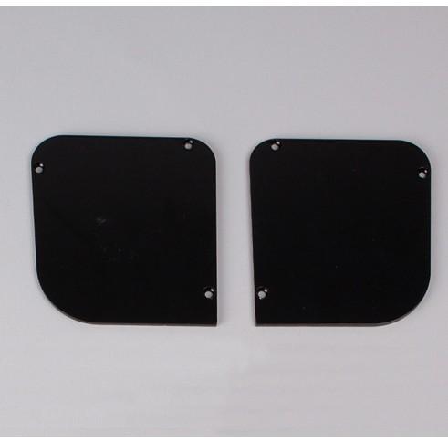 Black End Plates 90
