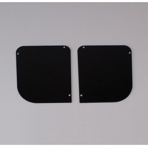Black End Plates 120