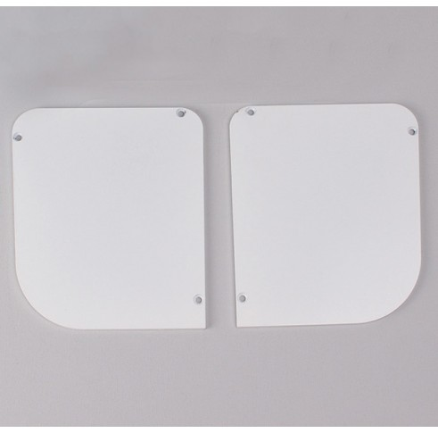 White End Plates 120
