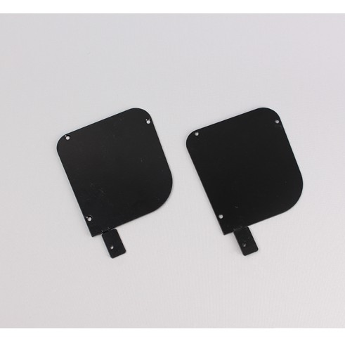 Black End Plates 120 With Lugs
