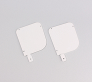 White End Plates 120 With Lugs