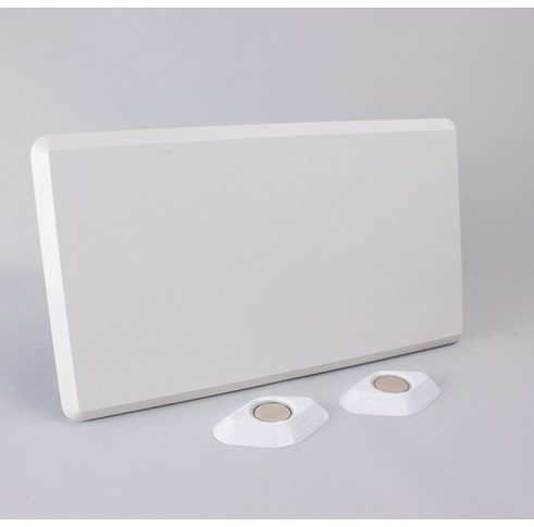 Mounting Plate 190mm X 335mm White