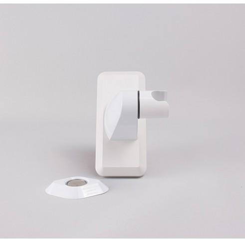 Shower Head Holder Plastic White