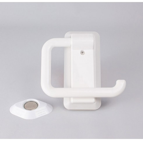 Toilet Roll Holder Plastic White