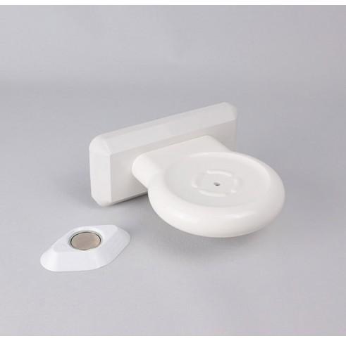 Soap Dish Plastic White