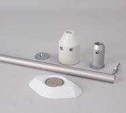 White Hanger Assembly Kit (1000mm)