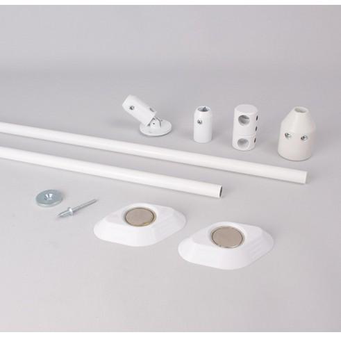 White V-Hanger Assembly Kit