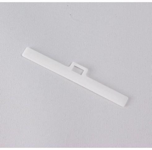 White Louvre Hanger 127mm