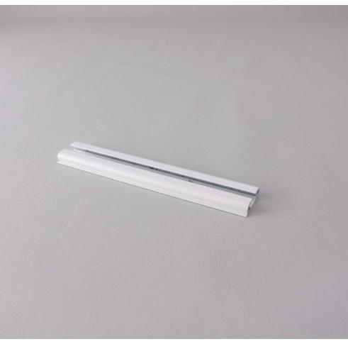 Aluminium Curtain Track 25 X 7mm White