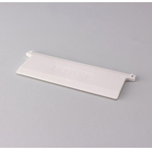 White Louvre Weight 127mm
