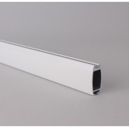 White Aluminium Bottom Bar