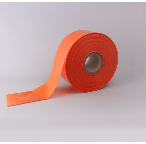 "9"" Orange Layflat tubing"