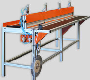 Roller Assembly Table - 3.5m Wide