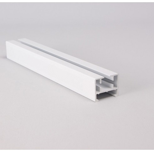 Curtain Track White