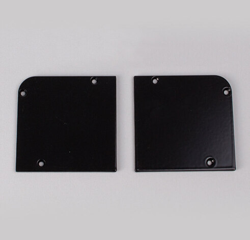Black Fascia End Plates 90