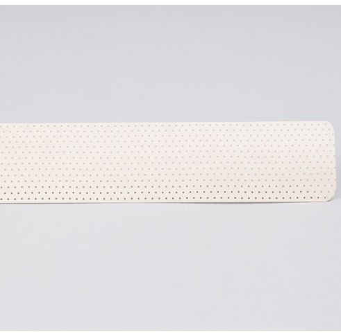 Ivory Perforated Slat