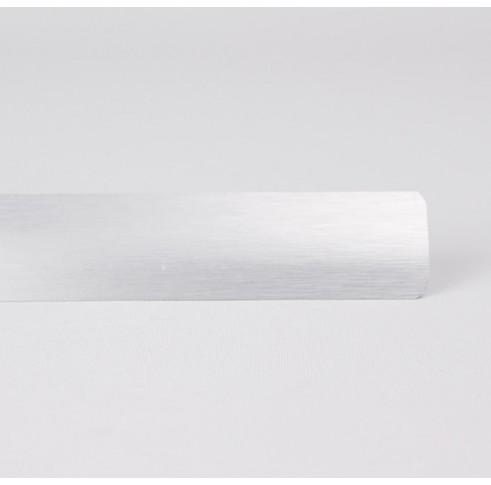 Brushed Silver Slat