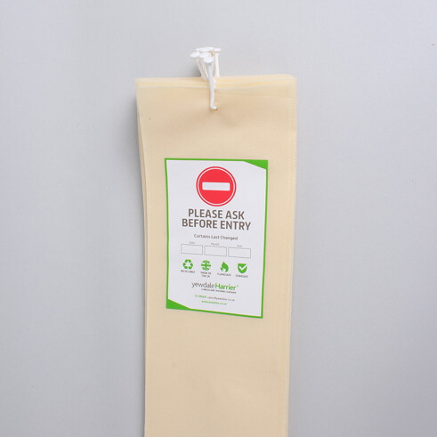 Disposable Cubicle Curtain with Universal Stalk Cream (DPL6)