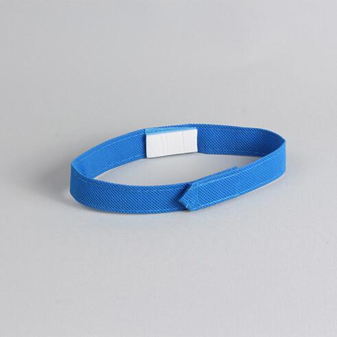 DPL Disposable cubicle curtain tieback, Sky blue